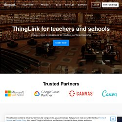 pour les enseignants et les écoles — ThingLink