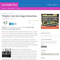 Thinglink. Creer des images interactives.