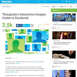 ThingLink's Interactive Images Come to Facebook