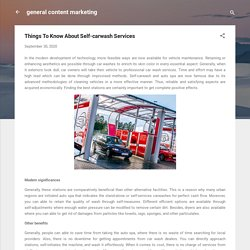 Things To Know About Self-carwash Services