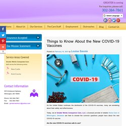Things to Know About the New COVID-19 Vaccines