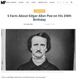 mental_floss Blog & 5 Things You Didn't Know About Edgar Allan Poe