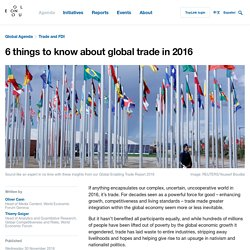 6 things to know about global trade in 2016