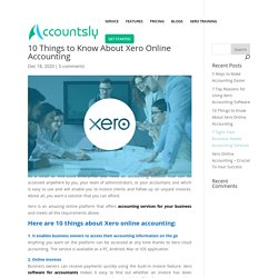 10 Things to Know About Xero Online Accounting