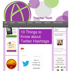 10 Things to Know about Twitter Hashtags