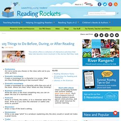 103 Things to Do Before/During/After Reading
