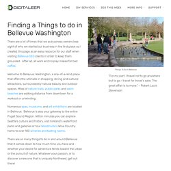 Things to Do In Bellevue