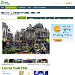 Things to do in Brussels BE: Belgium City Guide by 10Best