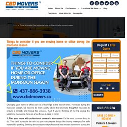 Commercial Office Movers in Vancouver