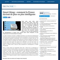 Smart things : comment la France devient de plus en plus intelligente