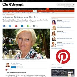 10 things you didn't know about Mary Berry