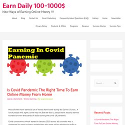 Things to do to earn money at home