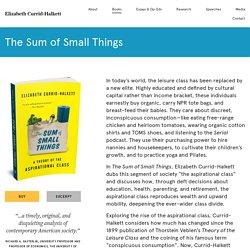 The Sum of Small Things - Elizabeth Currid-Halkett