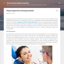 Things to Expect from an Emergency Dentist