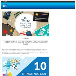 10-things-you-can-enjoy-with-a-travel-credit-card