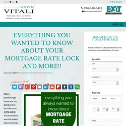 5 Things Every Home Buyer Should Know About Their Mortgage Rate Lock