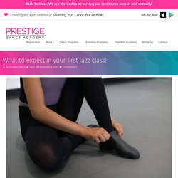 6 Things to Expect in Your First Jazz Class