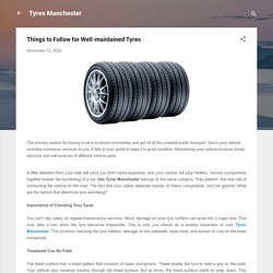 Things to Follow for Well-maintained Tyres
