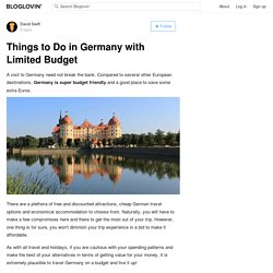 Things to Do in Germany with Limited Budget