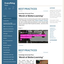 All Things Grammar - 100 Best Practices