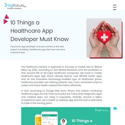 10 Things a Healthcare App Developer Must Know