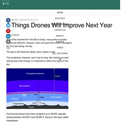 6 Things Drones Will Improve Next Year