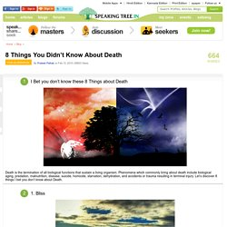 8 Things You Don't Know About Death