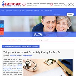 Things to Know About Extra Help Paying for Part D