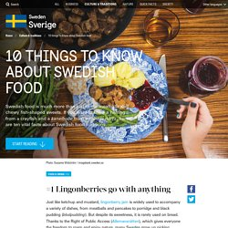 10 things to know about Swedish food
