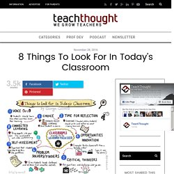 8 Things To Look For In Today's Classroom -