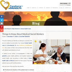 Things to Know About Medical Social Workers