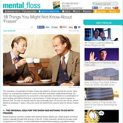 18 Things You Might Not Know About 'Frasier'