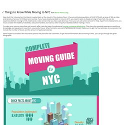 Things to Know While Moving to NYC - posted by Manav Pietro at Sharelt