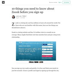 10 things you need to know about Zoosk before you sign up