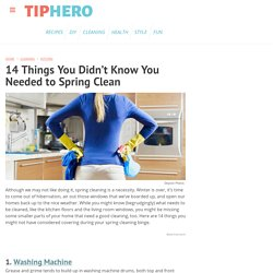 14 Things You Didn't Know You Needed to Spring Clean