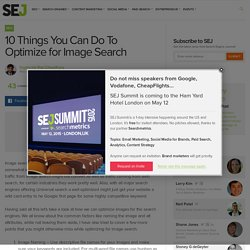 10 Things You Can Do To Optimize for Image Search