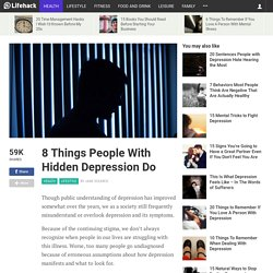 8 Things People With Hidden Depression Do