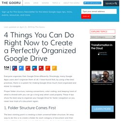 4 Things You Can Do Right Now to Create a Perfectly Organized Google Drive - ...
