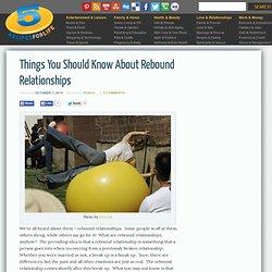 Rebound dating site