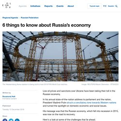 6 things to know about Russia's economy