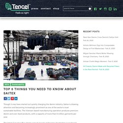 Top 5 Things You Need to Know About Saitex - Carved in blue - TENCEL™