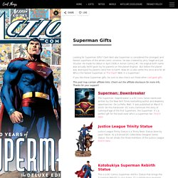 The Best Superman Gifts That Every Fan Is Looking For