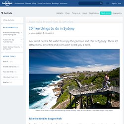 20 free things to do in Sydney