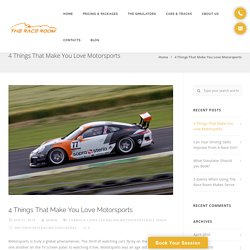 4 Things That Make You Love Motorsports