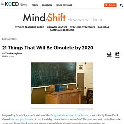 21 Things That Will Be Obsolete by 2020