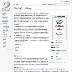 order of things foucault pdf
