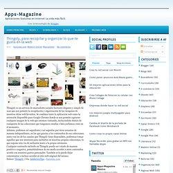 Thingsly, para recopilar y organizar lo que te gusta en la web ~ Apps-Magazine