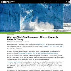 What You Think You Know About Climate Change Is Probably Wrong