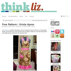 Krista Apron – think liz.