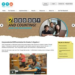 Online math supplemental tutoring solutions for middle & high schools by Apangea Learning